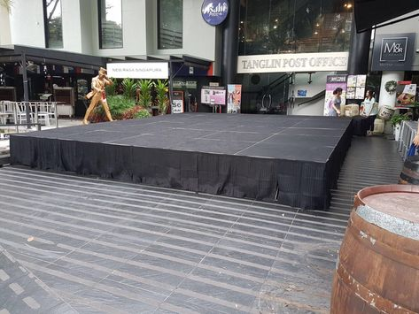outdoor stage rental singapore